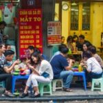 Food street, tong duy tan – karaoke like clockwork at our hanoi home