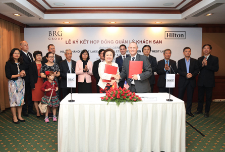 Hilton and brg group plan dual-branded hotel for hanoi, vietnam Hilton will manage