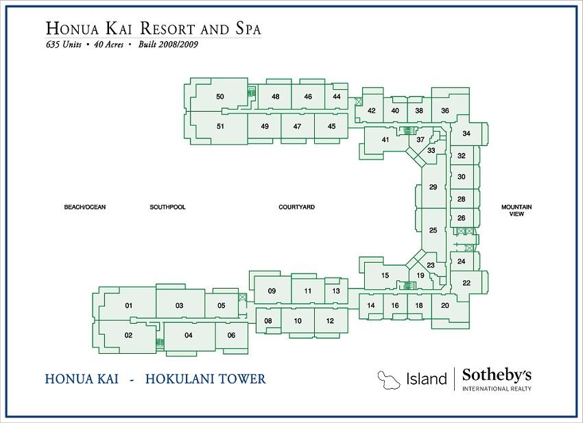 hokulani map