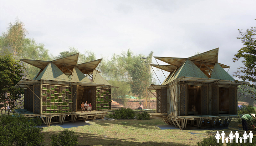 Inexpensive bamboo housing in vietnam by h&p architects comments with regards to