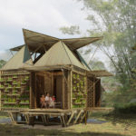 Inexpensive bamboo housing in vietnam by h&p architects