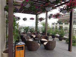 Swimming pool service apartment in Hang Chuoi , Hoan Kiem dist,.