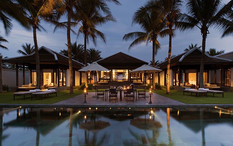 The nam hai - an extravagance hoi an hotel is going