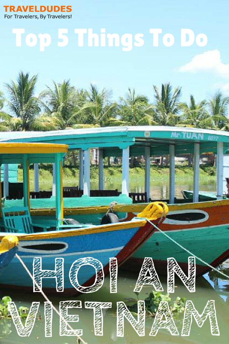 Top 5 things you can do in hoi an, vietnam - the following somewhere km ride for an Bang