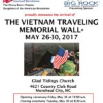 Vietnam traveling wall to stay in morehead city