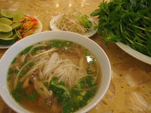 pho in Saigon