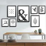 Methods for Rocking Black and White Wall Art